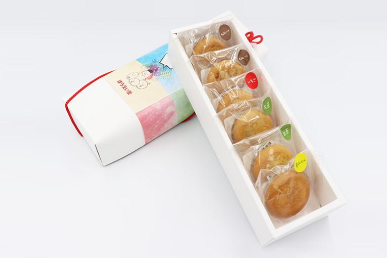 山口弁まんじゅう 6個入(化粧箱)